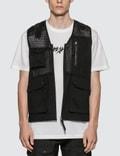 Maharishi Scrim Net Organic Cargo Vest Picutre
