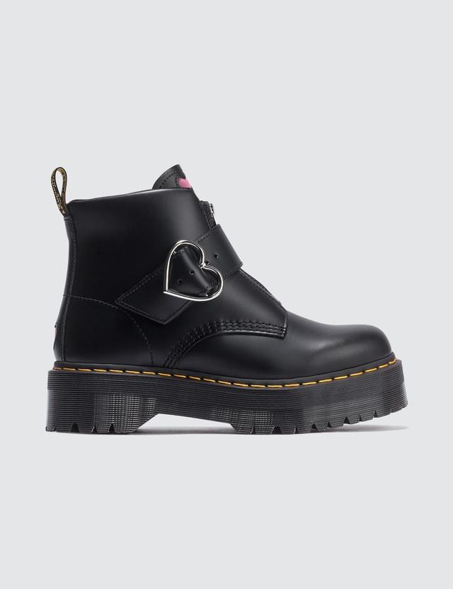 Dr. Martens Lazy Oaf X Dr. Martens Buckle Boots