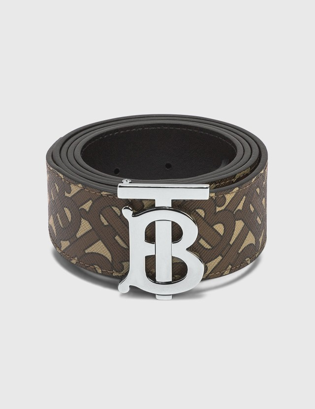 Burberry TB Monogram Belt Bridle Brown Ns Men