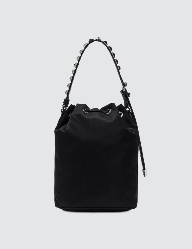 Prada Nylon New Vela Bucket Bag