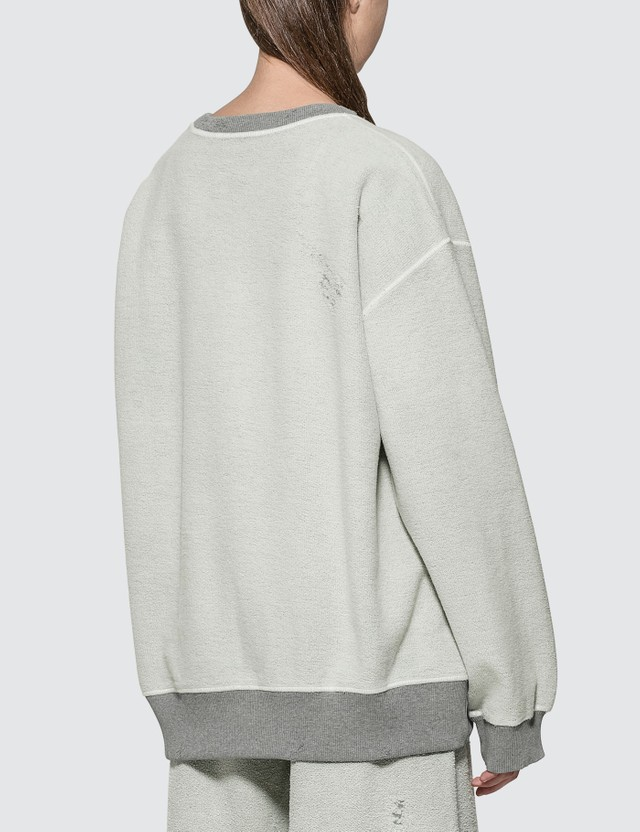 MM6 Maison Margiela Fleece Logo Sweatshirt