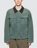 Yeezy Season 6 Flannel Lined Canvas Jacket Picture