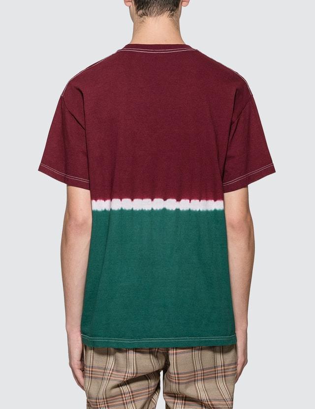 Pleasures Utah Dip Dye Logo T-shirt