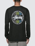 Stussy Surf Dot Pig. Dyed Long Sleeve T-shirt Picture