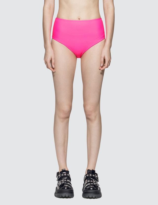 Stussy Myla Swim Bottom Neon Pink Women