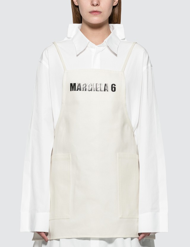 MM6 Maison Margiela Cotton Apron Top