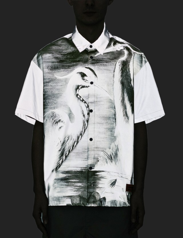 Heron Preston Reflex Shirt Grey Men