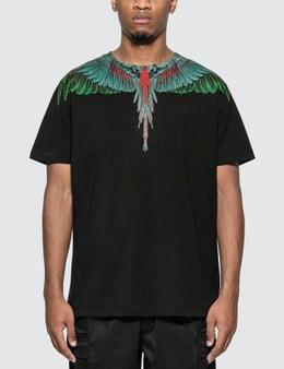 Marcelo Burlon Green Wings T-Shirt