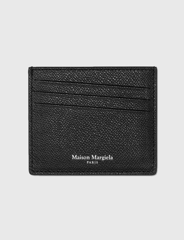 Maison Margiela Leather Card Holder Black Men