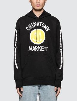 Chinatown Market Chinatown Market x Smiley Logo Chain Hoodie