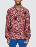 Stussy Spider Web Flannel Long Sleeve Shirt Picutre