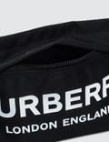 Burberry Nylon Logo Zip Pouch