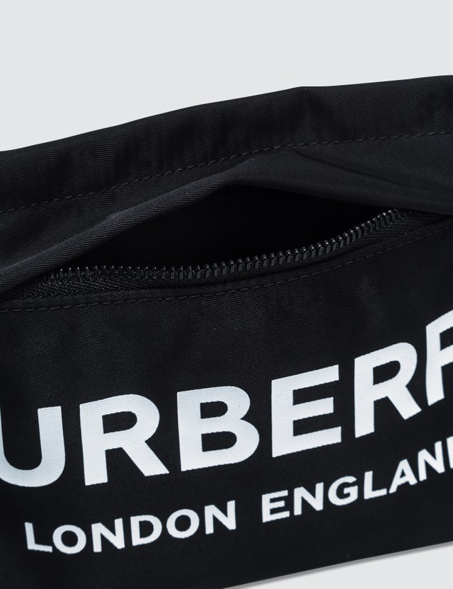 Burberry Nylon Logo Zip Pouch