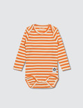 Mini Rodini Stripe Rin L/S Body Picture