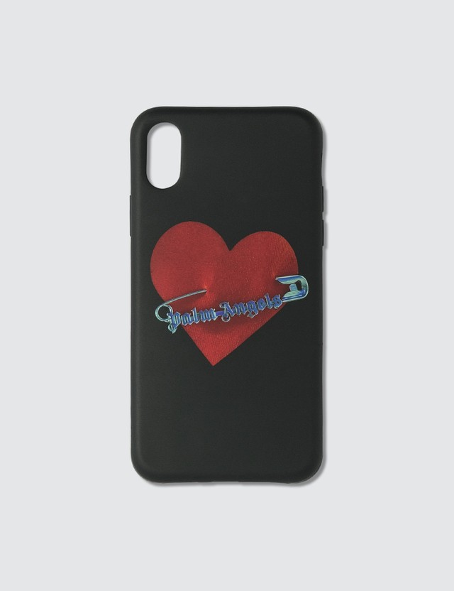Palm Angels Pin My Heart iPhone XS Case