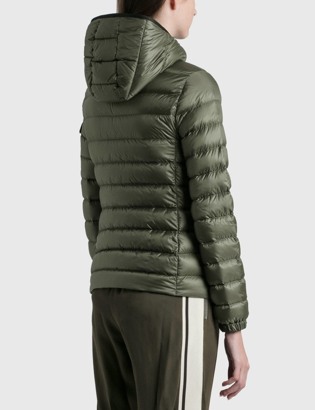 Moncler Bles Down Jacket Military Green Women