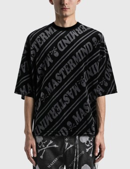 Mastermind World Velour Diagonal Boxy T-shirt