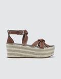 Loewe Gate Wedge Sandals Picture