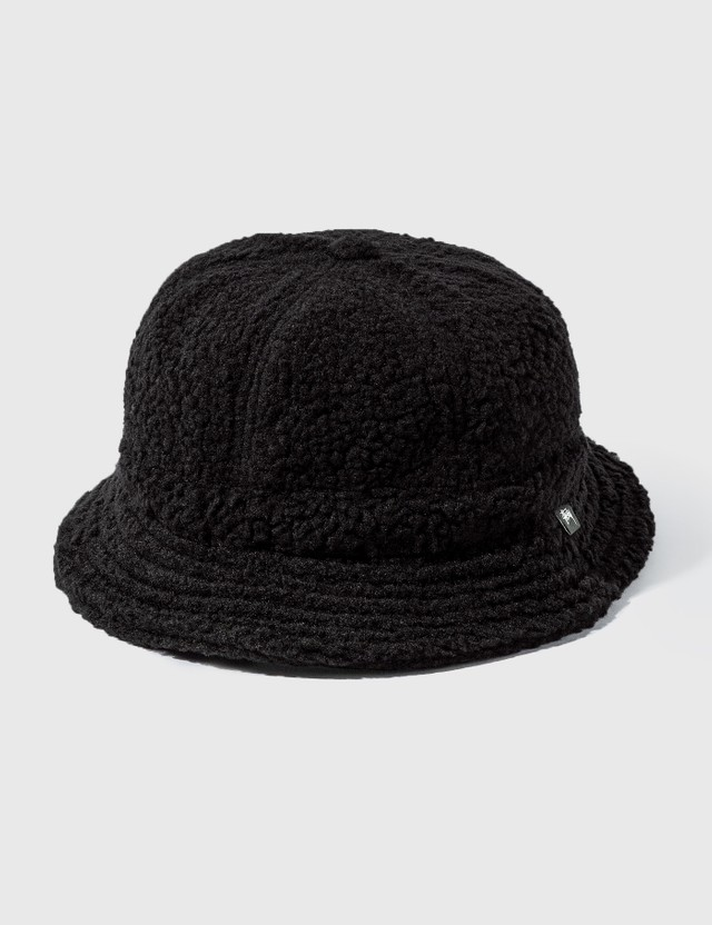Stussy Sherpa Fleece Bell Bucket Hat