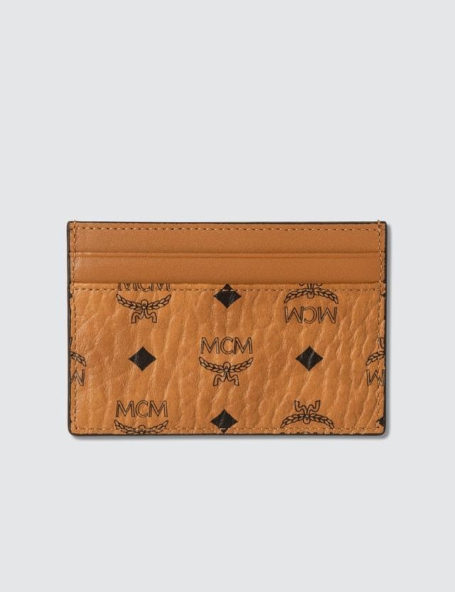 MCM Card Case in Visetos Original