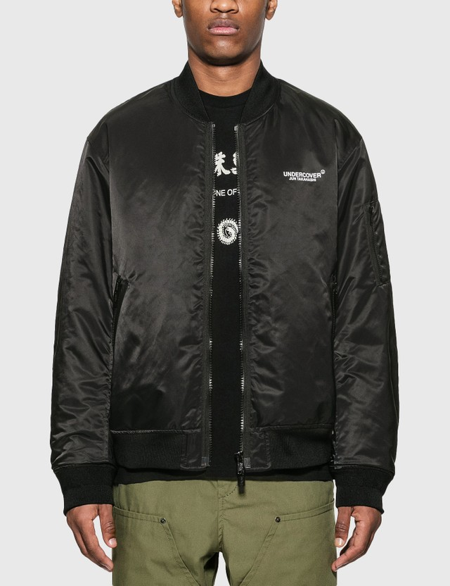 Undercover Reversible Bomber Jacket Black Men