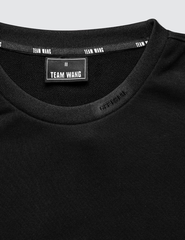 Team Wang Logo Print Sweatshirt