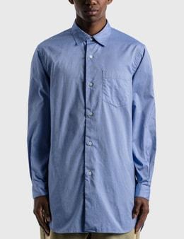 SOPHNET. Regular Collar Long Shirt