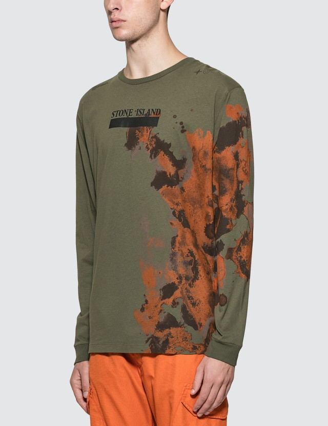 Stone Island Graphic Long sleeve T-Shirt