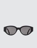 Super By Retrosuperfuture Drew Mama Black Sunglasses Picture