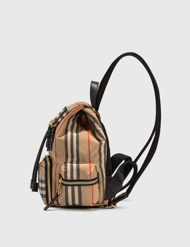 Burberry Mini Rucksack in Vintage Check ECONYL®