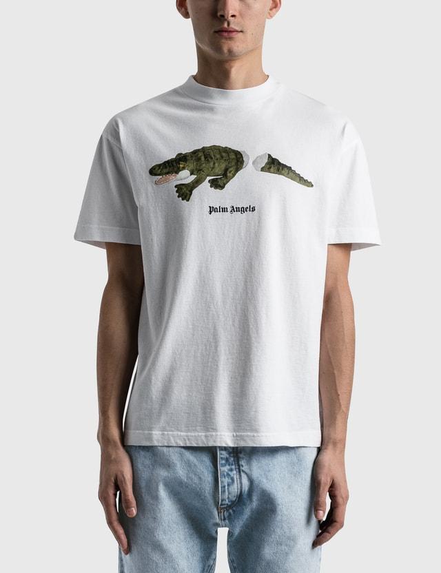 Palm Angels Croco T-Shirt White Men