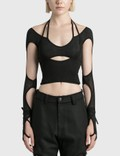 Hyein Seo Halter Top With Sleeve Picture