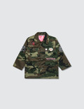 Hey Babe Camo Mash-up Jacket 사진