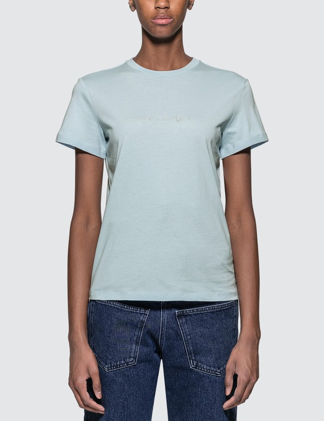 Helmut Lang Alien T-shirt Blue Women