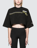Fenty Puma By Rihanna Cropped Crew Neck S/S T-Shirt Picture