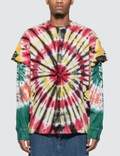 Billionaire Boys Club BBC Hiro Tie Dye Long Sleeve T-shirt Picture