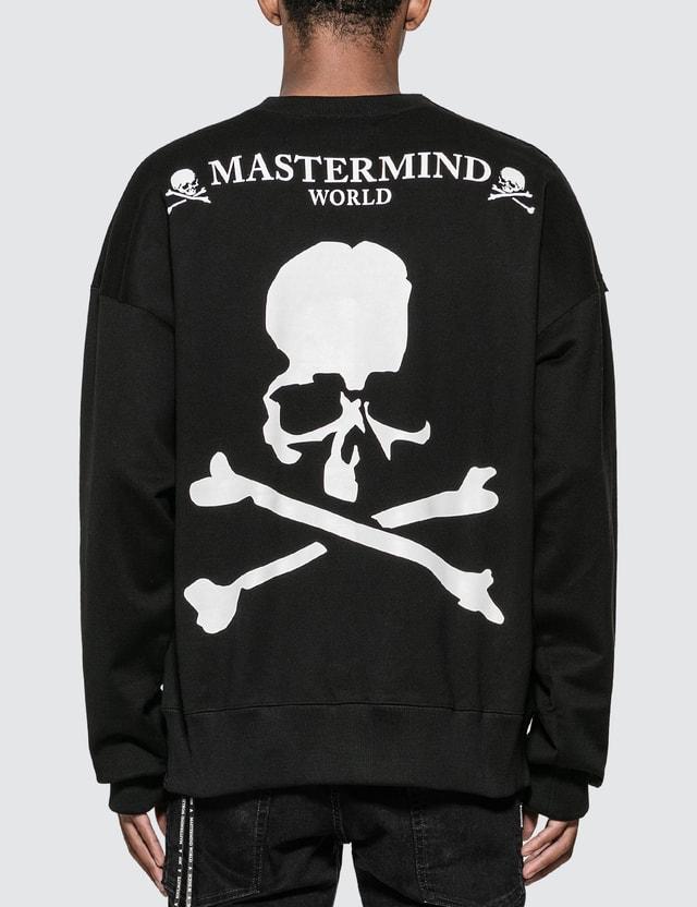 Mastermind World Shoulder Zip Skull Sweatshirt