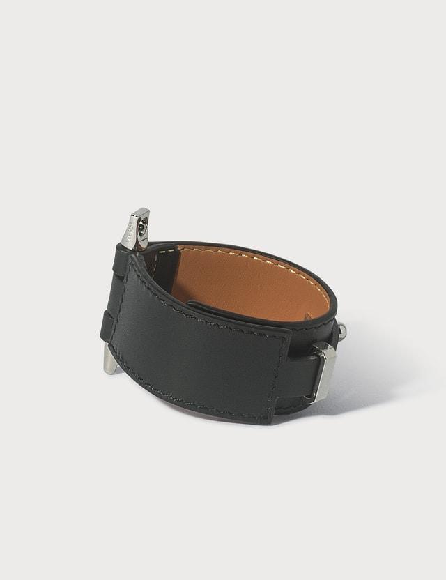 Loewe Gate Bracelet Black Women