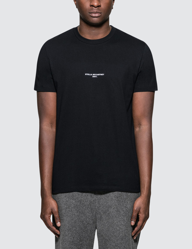 "Stella McCartney ""Stella McCartney 2001"" Logo S/S T-Shirt"