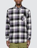 Carhartt Work In Progress Keagan Check Long Sleeve Shirt Picture