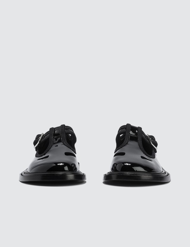 Burberry Patent Leather T-bar Shoes