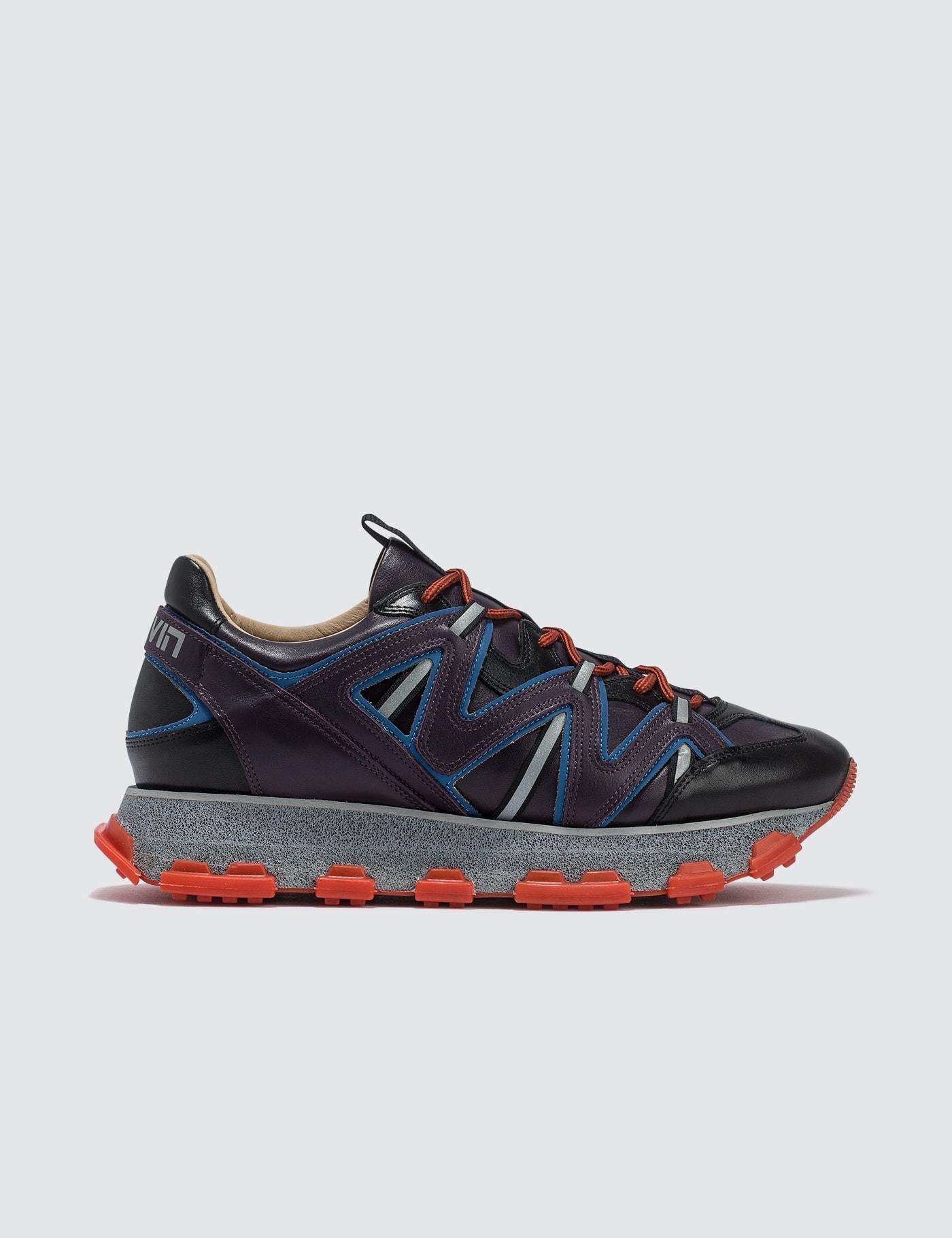 Purple Blue Lightning Sneaker