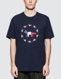 Maison Kitsune Fox Flag S/S T-Shirt Picture