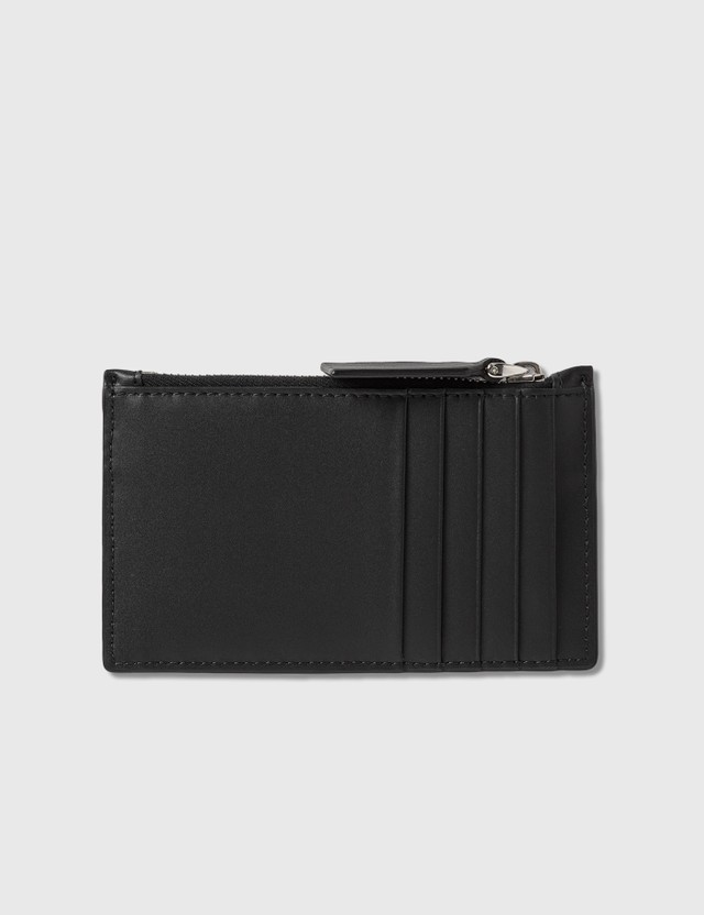 Valentino Valentino Garavani Double V Logo Card Holder