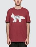 Maison Kitsune Fox Handwriting S/S T-Shirt Picture