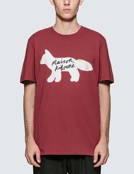 메종 키츠네 Maison Kitsune Fox Handwriting S/S T-Shirt