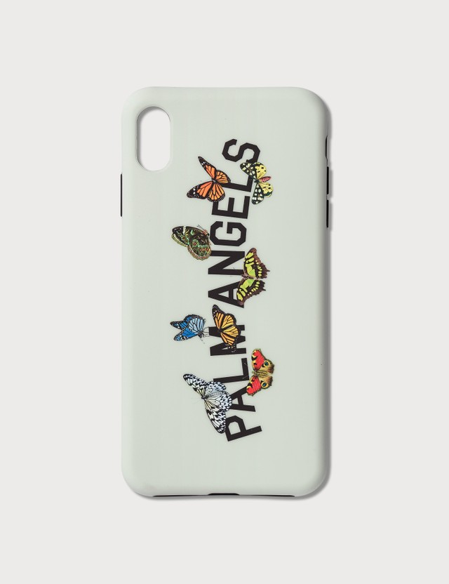 Palm Angels Butterfly College iPhone Case Xs Max Ice Grey Multic Women