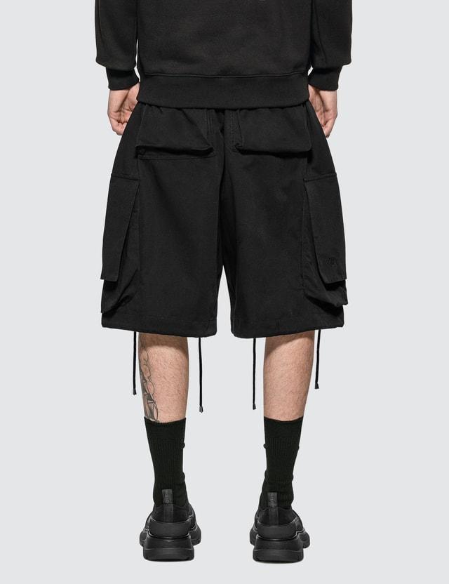 JW Anderson Oversized Drawstring Cargo Shorts