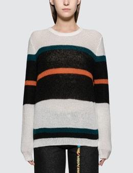 Loewe Stripe Mohair Sweater