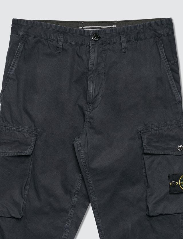 Stone Island Logo Cargo Pants